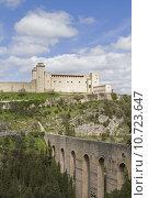 bridge castle fortress chateau aqueduct. Стоковое фото, фотограф Christa Eder / PantherMedia / Фотобанк Лори