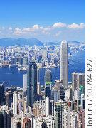 Купить «Hong Kong skyline», фото № 10784627, снято 16 октября 2019 г. (c) PantherMedia / Фотобанк Лори