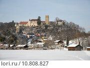 Купить «winter snow schloss blauer himmel», фото № 10808827, снято 19 октября 2019 г. (c) PantherMedia / Фотобанк Лори