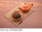 Купить «Chinese tea ceremony», фото № 10820567, снято 16 июня 2019 г. (c) PantherMedia / Фотобанк Лори
