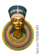 Купить «Face of Nefertiti», фото № 10828931, снято 21 августа 2018 г. (c) PantherMedia / Фотобанк Лори