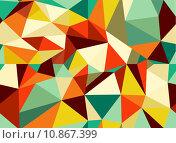 Купить «Trendy vintage geometric seamless pattern», иллюстрация № 10867399 (c) PantherMedia / Фотобанк Лори