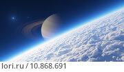 Купить «Atmosphere. Elements of this image furnished by NASA.», фото № 10868691, снято 19 января 2019 г. (c) PantherMedia / Фотобанк Лори