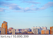 Купить «urban panoramic landscape», фото № 10890399, снято 24 августа 2019 г. (c) PantherMedia / Фотобанк Лори
