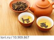 Купить «Chinese tea ceremony», фото № 10909867, снято 16 июня 2019 г. (c) PantherMedia / Фотобанк Лори
