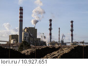 Купить «industrial paper factory», фото № 10927651, снято 17 декабря 2018 г. (c) PantherMedia / Фотобанк Лори