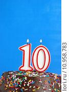 Купить «Celebrating Ten Years», фото № 10958783, снято 28 марта 2020 г. (c) PantherMedia / Фотобанк Лори