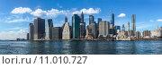 Купить «blue city new usa skyline», фото № 11010727, снято 16 октября 2019 г. (c) PantherMedia / Фотобанк Лори