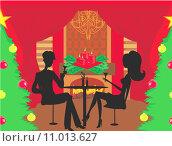 Купить «Christmas dinner.», иллюстрация № 11013627 (c) PantherMedia / Фотобанк Лори