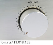 Купить «volume control», фото № 11018135, снято 18 июля 2018 г. (c) PantherMedia / Фотобанк Лори
