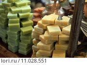 Купить «Olive Oil Soap Bars», фото № 11028551, снято 18 января 2019 г. (c) PantherMedia / Фотобанк Лори