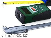 Купить «Measuring tools», фото № 11032827, снято 23 октября 2018 г. (c) PantherMedia / Фотобанк Лори