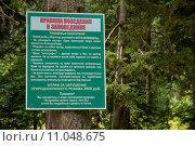 Правила поведения в заповеднике (2015 год). Редакционное фото, фотограф Светлана Самаркина / Фотобанк Лори