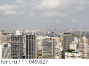 Купить «Skyline of Sao Paulo», фото № 11049827, снято 16 октября 2019 г. (c) PantherMedia / Фотобанк Лори