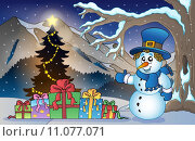 Купить «Christmas outdoor theme 6», иллюстрация № 11077071 (c) PantherMedia / Фотобанк Лори
