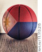 Купить «Philippine basketball», фото № 11113215, снято 19 марта 2019 г. (c) PantherMedia / Фотобанк Лори