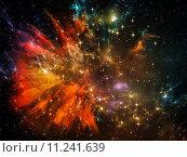 Купить «Space Backdrop», фото № 11241639, снято 22 июля 2019 г. (c) PantherMedia / Фотобанк Лори