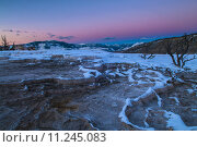 Купить «Yellowstone Winter Landscape at Sunset», фото № 11245083, снято 15 сентября 2019 г. (c) PantherMedia / Фотобанк Лори