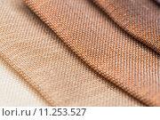 Купить «Multi color fabric texture samples», фото № 11253527, снято 22 мая 2019 г. (c) PantherMedia / Фотобанк Лори