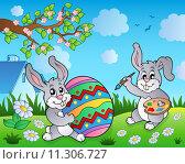 Купить «Easter bunny topic image 3», иллюстрация № 11306727 (c) PantherMedia / Фотобанк Лори