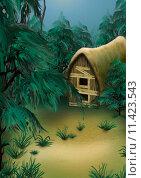 Купить «Forest Cottage», иллюстрация № 11423543 (c) PantherMedia / Фотобанк Лори