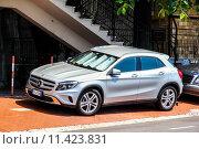 Купить «Mercedes-Benz X156 GLA-class», фото № 11423831, снято 2 августа 2014 г. (c) Art Konovalov / Фотобанк Лори