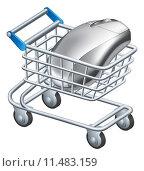 Купить «Online internet shopping concept», иллюстрация № 11483159 (c) PantherMedia / Фотобанк Лори