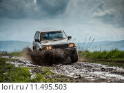 Купить «Off road car», фото № 11495503, снято 22 мая 2018 г. (c) PantherMedia / Фотобанк Лори