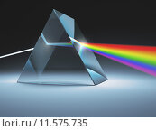 Купить «Crystal Prism», фото № 11575735, снято 16 марта 2020 г. (c) PantherMedia / Фотобанк Лори