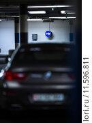 Купить «Underground parking/garage», фото № 11596811, снято 18 февраля 2019 г. (c) PantherMedia / Фотобанк Лори