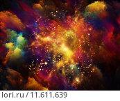 Купить «Vibrant Nebula», фото № 11611639, снято 24 июля 2019 г. (c) PantherMedia / Фотобанк Лори