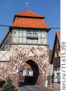 Купить «Neustadt Harz Historisches Stadttor zur Altstadt», фото № 11615359, снято 25 мая 2019 г. (c) PantherMedia / Фотобанк Лори