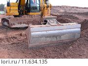 Купить «shovel construction site dredger baggern», фото № 11634135, снято 20 марта 2019 г. (c) PantherMedia / Фотобанк Лори