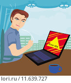 Купить «error 404 computer bug work», иллюстрация № 11639727 (c) PantherMedia / Фотобанк Лори