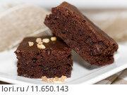 Купить «brownies», фото № 11650143, снято 18 ноября 2018 г. (c) PantherMedia / Фотобанк Лори