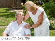 Elderly couple enjoying life together. Стоковое фото, фотограф Tomas Anderson / PantherMedia / Фотобанк Лори