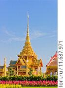 Купить «Thai royal crematorium in Bangkok, Thailand», фото № 11687971, снято 27 мая 2019 г. (c) PantherMedia / Фотобанк Лори