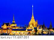 Купить «Thai Royal Crematorium at twilight in Bangkok, Thailand .», фото № 11697051, снято 23 октября 2018 г. (c) PantherMedia / Фотобанк Лори