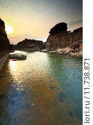 Купить «Sampanbok Grand canyon of Thailand.», фото № 11738871, снято 27 мая 2019 г. (c) PantherMedia / Фотобанк Лори