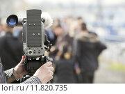 Купить «video camera», фото № 11820735, снято 20 сентября 2019 г. (c) PantherMedia / Фотобанк Лори