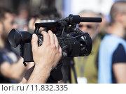 Купить «video camera», фото № 11832335, снято 20 сентября 2019 г. (c) PantherMedia / Фотобанк Лори