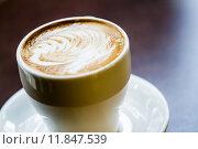 Купить «Latte Coffee on a table», фото № 11847539, снято 24 июля 2019 г. (c) PantherMedia / Фотобанк Лори
