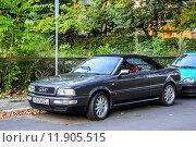 Купить «Audi Cabriolet», фото № 11905515, снято 13 сентября 2013 г. (c) Art Konovalov / Фотобанк Лори