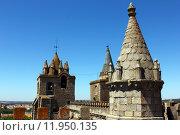 Купить «Cathedral, Evora, Portugal», фото № 11950135, снято 25 июня 2018 г. (c) PantherMedia / Фотобанк Лори