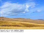 Купить «Осенние луга на плато Лагонаки в Кавказском биосферном заповеднике, Адыгея», фото № 11959291, снято 15 октября 2014 г. (c) Анна Мартынова / Фотобанк Лори