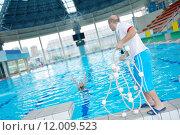 Купить «help and rescue on swimming pool», фото № 12009523, снято 19 сентября 2019 г. (c) PantherMedia / Фотобанк Лори