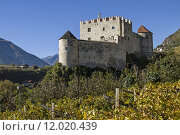 Купить «italy castle chateau burggrafenamt south», фото № 12020439, снято 19 декабря 2018 г. (c) PantherMedia / Фотобанк Лори