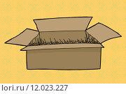 Купить «Box on Halftone Background», иллюстрация № 12023227 (c) PantherMedia / Фотобанк Лори