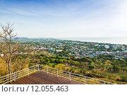 Купить «View point Hua Hin city in the morning», фото № 12055463, снято 20 июня 2019 г. (c) PantherMedia / Фотобанк Лори