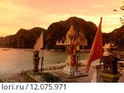 Купить «THAILAND KRABI», фото № 12075971, снято 27 мая 2019 г. (c) PantherMedia / Фотобанк Лори